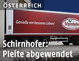 Ein Lkw der Firma Schirnhofer