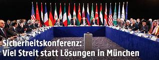 Verhandlungen in München