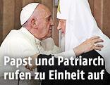 Papst Franziskus und Patriarchen Kyrill I.