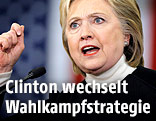 Demokratische US-Präsidentschaftskandidatin Hilary Clinton