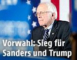 Demokratischer US-Präsidentschaftskandidat Bernie Sanders