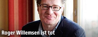 Der deutsche Autor und Moderator Roger Willemsen