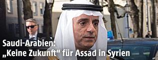Saudi Arabiens Außenminister Adel al-Dschubeir
