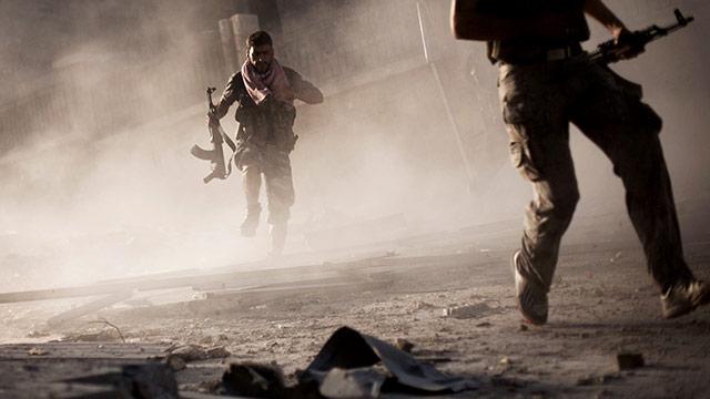 Syrische Kämpfer