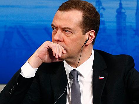 Dimitri Medwedew, russischer Regierungschef