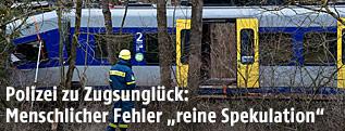 Verunglückte Züge in Bayern