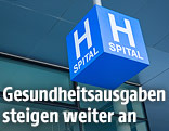 Spital-Schild