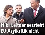 Innenministerin Johanna Mikl-Leitner und Verteidigungsminister Hans Peter Doskozil