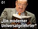 Schriftsteller Umberto Eco