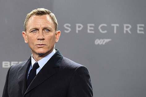 Bond-Darsteller Daniel Craig