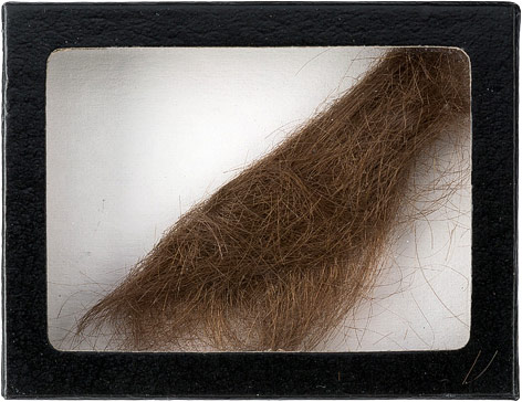 Haarlocke von John Lennon