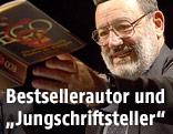 Lesung im Burgtheater von Umberto Eco
