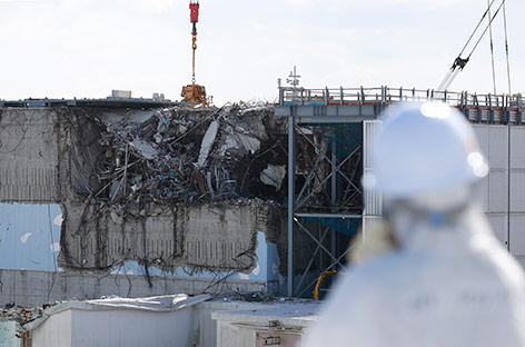 Schaden am Reaktor drei