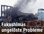 Rauch dringt aus dem explodierten AKW Fukushima 2011