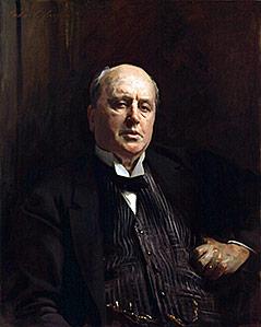 Gemälde mit Henry James