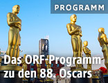 Oscar-Skulpturen in Hollywood