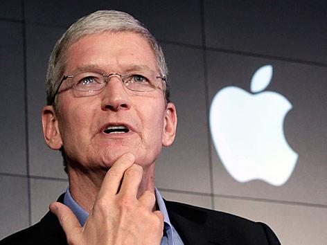 Tim Cook, Apple-Chef