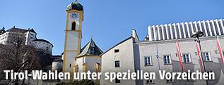 Festung Kufstein, Kirche und Rathaus