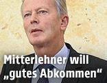 Wissenschaftsminister Reinhold Mitterlehner (ÖVP)