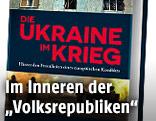 """Buchcover von """"Die Ukraine im Krieg"""""""