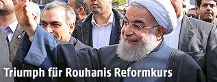 Der iranische Präsident Hassan Rouhani