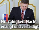 Der slowakische Premier Robert Fico