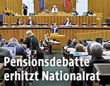 Sondersitzung im österreichischen Parlament