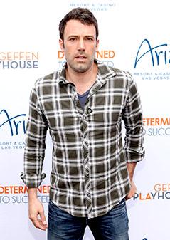 Ben Afleck im Jahr 2012
