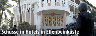 Hotel in der Elfenbeinküste