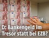 Geld im Tresor