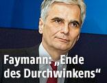 Bundeskanzler Werner Faymann beim EU-Sondergipfel in Brüssel