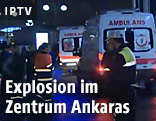 Rettungswägen in Ankara