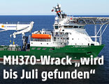 Suchschiff Havila Harmony im Indischen Ozean