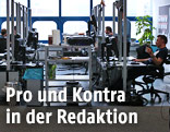 Blick in die ORF.at-Redaktion