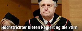 Polens oberster Verfassungsrichter Andrzej Rzeplinski