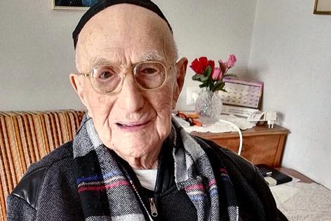 Der 112 Jahre alte Israel Kristal