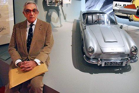 Der britische Filmarchitekt Sir Ken Adam
