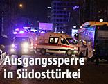 Einsatzwagen in Ankara