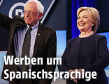 Bernie Sanders und Hillary Clinton