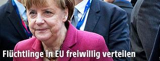 Deutschlands Bundeskanzlerin Angela Merkel (CDU)