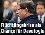 Türkischer Ministerpräsident Ahmet Davutoglu