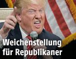 Der republikanische US-Präsidentschaftskandidat Donald Trump