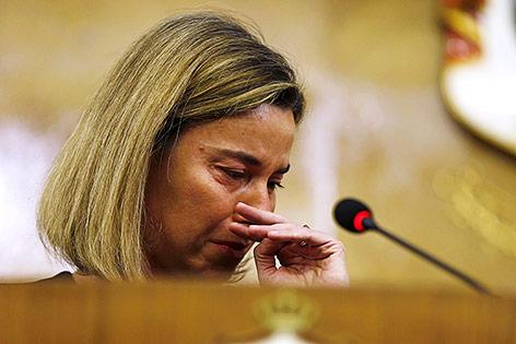 EU-Außenministerin Federica Mogherini