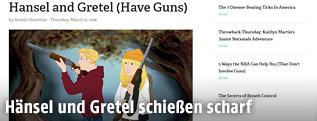 Screenshot von Hänsel und Gretel der NRA