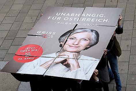 Präsidentschaftskandidaten Irmgard Griss