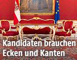 Innenansicht der österreichischen Präsidentschaftskanzlei