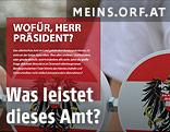 Screenshot der Website meins.ORF.at