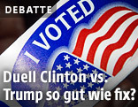 """Sticker mit der Aufschrift """"I voted"""""""