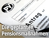 Pensionsantragsformular