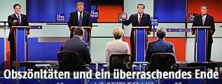 US-Republikaner in der TV-Debatte